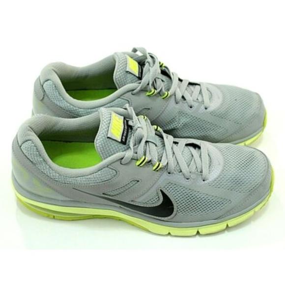 Nike Air Max 2013 GreyNeon Green Running Shoes